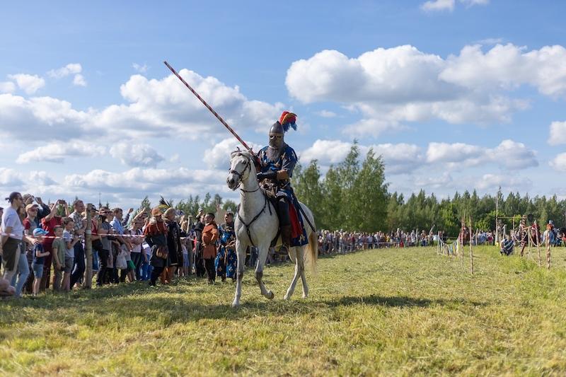 Рыцарское конное шоу