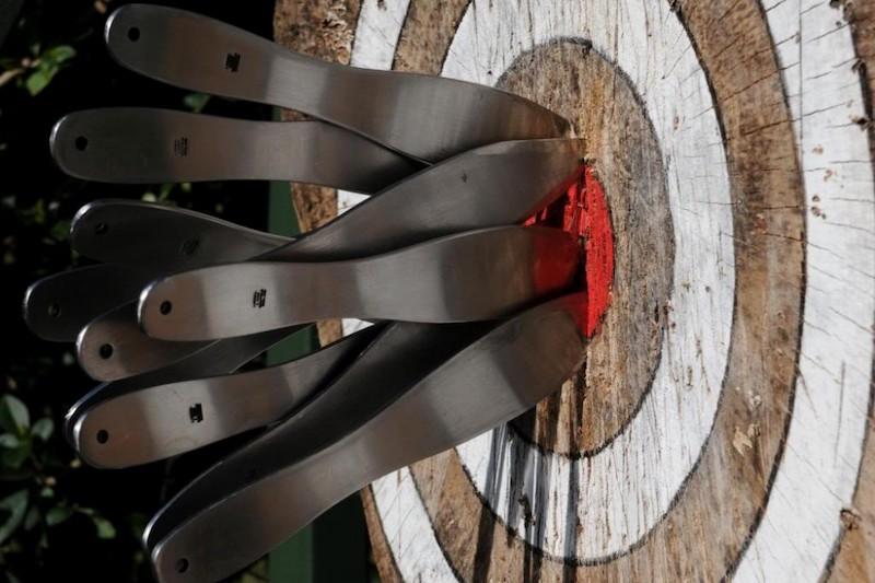 Метание ножей и сюрикенов