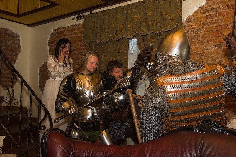 Рыцарское похищение или выкуп невесты на свадьбу